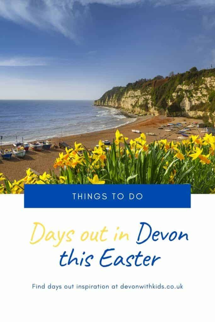 Easter is a top time to get out and about in Devon with egg hunts and special family activities happening. Here's some fun things to do in Devon this Easter #Devon #England #thingstodo #whatson #family #daysout #Easter #Spring #egg #hunt #trail #fun
