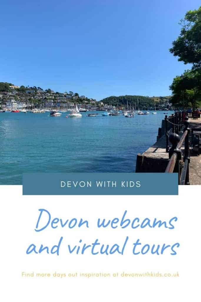 Even when you can't travel it's still possible to enjoy some of Devon's wonderful places. Take a look at these Devon webcams and virtual tours at home #Devon #thingstodo #webcam #virtual #tour #UK #England #attractions #places #DevonwithKids