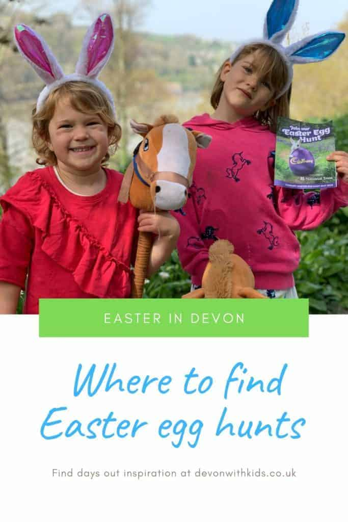 Looking to treat your children to a day out involving fresh air, fun and a chocolatey treat? Here's where you'll find Easter egg hunts in Devon in 2020 #England #Devon #SoutWest #daysout #Easter #egg #hunt #thingstodo #whatson #family #fun #trail