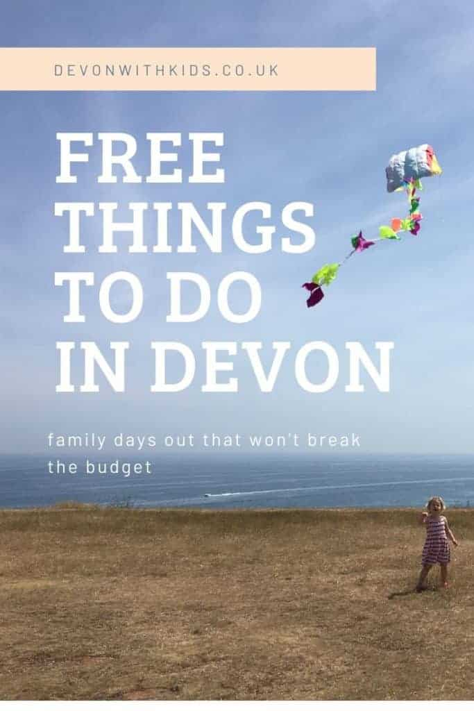 Days out can be expensive - fact! Take advantage of the many free things to do in Devon with children in between activities that are special treats #Devon #whatson #thingstodo #free #fun #daysout #family #attractions #museums #tours #travel #england #southwest #beaches #walks