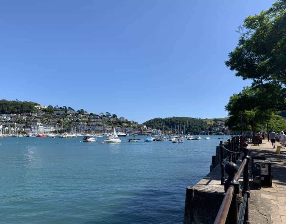 View of the River Dart and Kingswear from Dartmouth