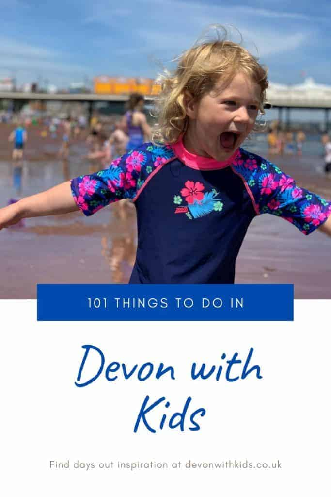 What's to do in Devon? LOTS! Here's a huge list of unmissable things to do in Devon with kids whatever the time of year. You'd be hard pressed to be bored! #Devon #England #UK #daysout #family #kids #thingstodo #attractions #castles #themeparks #swimming #zoo #park #NationalTrust #active #visit #places