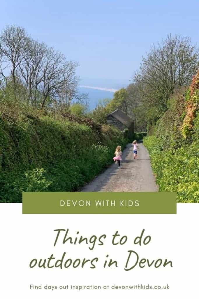 Oh, the great outdoors! What would we do without you? Here are some outdoor activities in Devon the whole family can enjoy, from gardens and family attractions to beaches and country parks #Devon #outdoor #outdoors #parks #countryside #parkland #UK #England #Devonwithkids