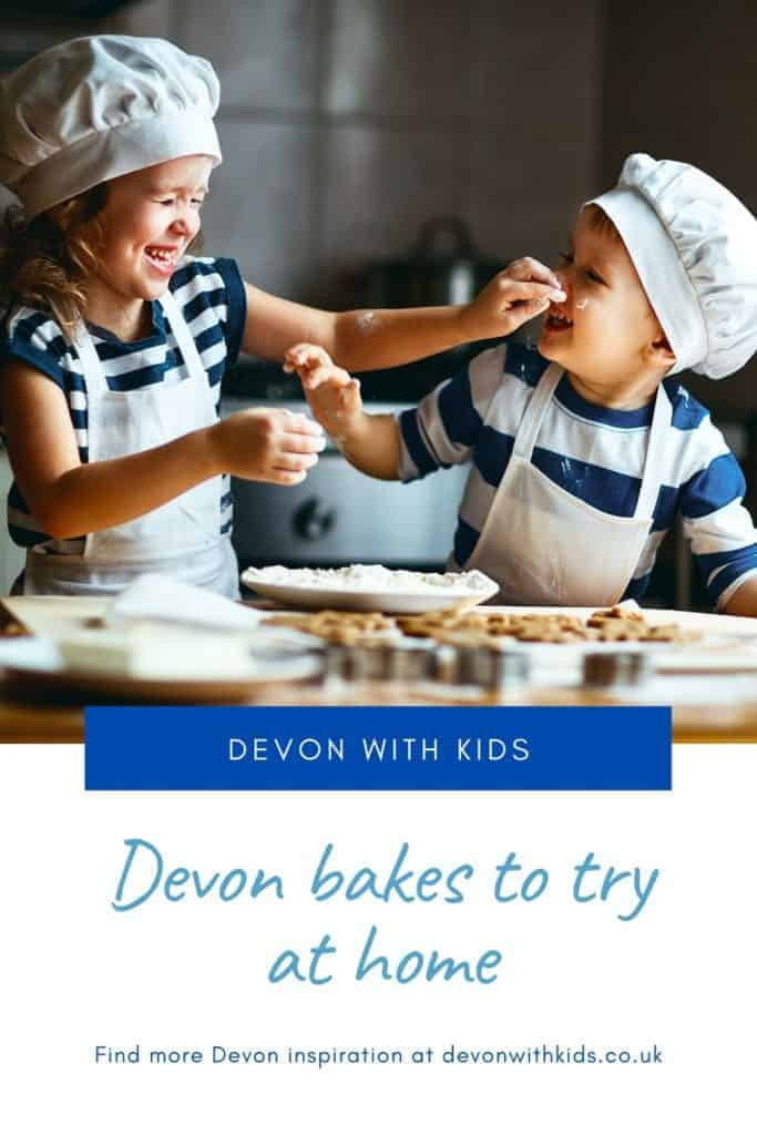 Craving a taste of Devon? Baking always lifts the mood in our house. Why not try making these delicious Devon recipes at home with your kids #recipe #recipes #Devon #England #baking #UK #kids #children #activity #home #cook #delicious #sweet #cake #pudding #make #Devonwithkids