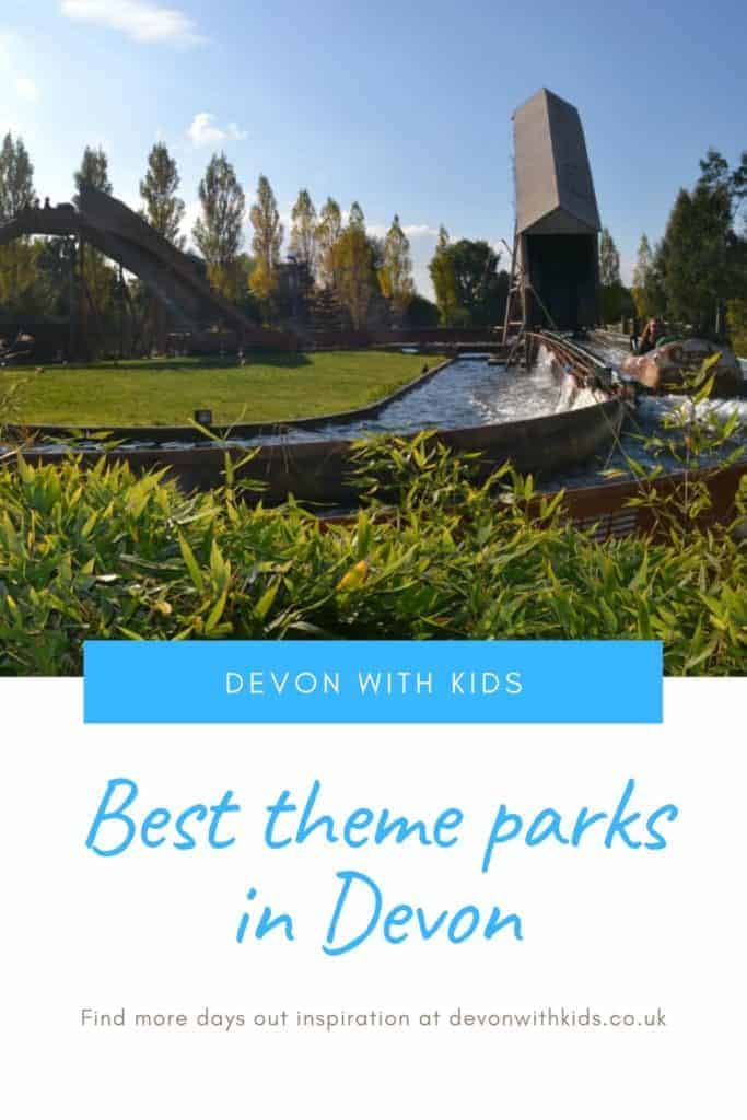 Looking for fun things to do in Devon with kids? Why not treat them to a day out with rides and adventure play at one of these top theme parks in Devon? #Devon #themepark #rollercoaster #flume #dayout #fun #holiday #staycation #attraction #family #teens #toddlers #kids #DevonwithKids