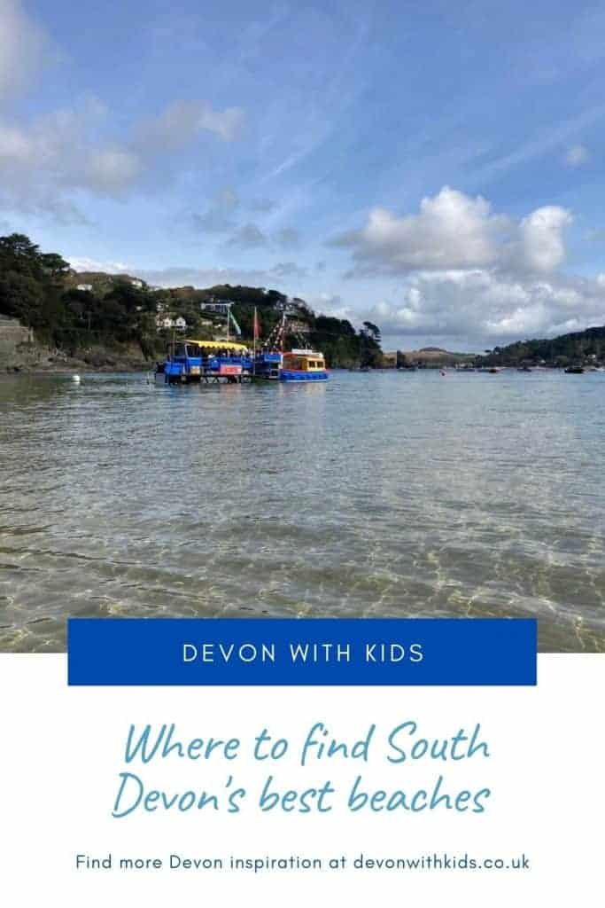 Wondering which are the best South Devon beaches? Here's where to find family-friendly bays with facilities, rock pools and safe water #beach #guide #UK #Devon #England #best #family #dog #coast #thingstodo #Devonwithkids