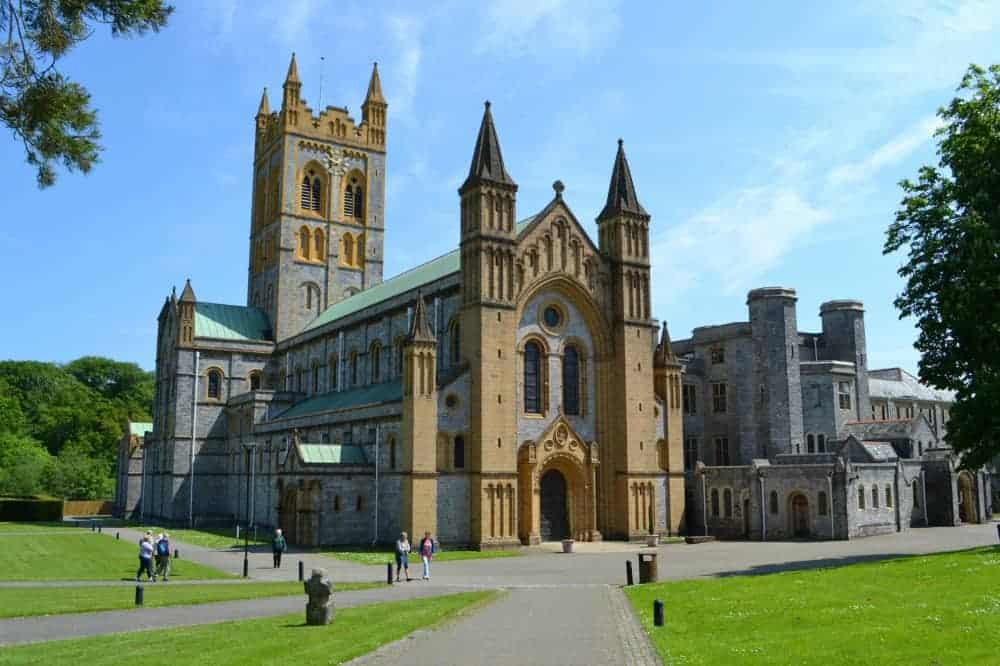 Buckfast Abbey in Buckfastleigh