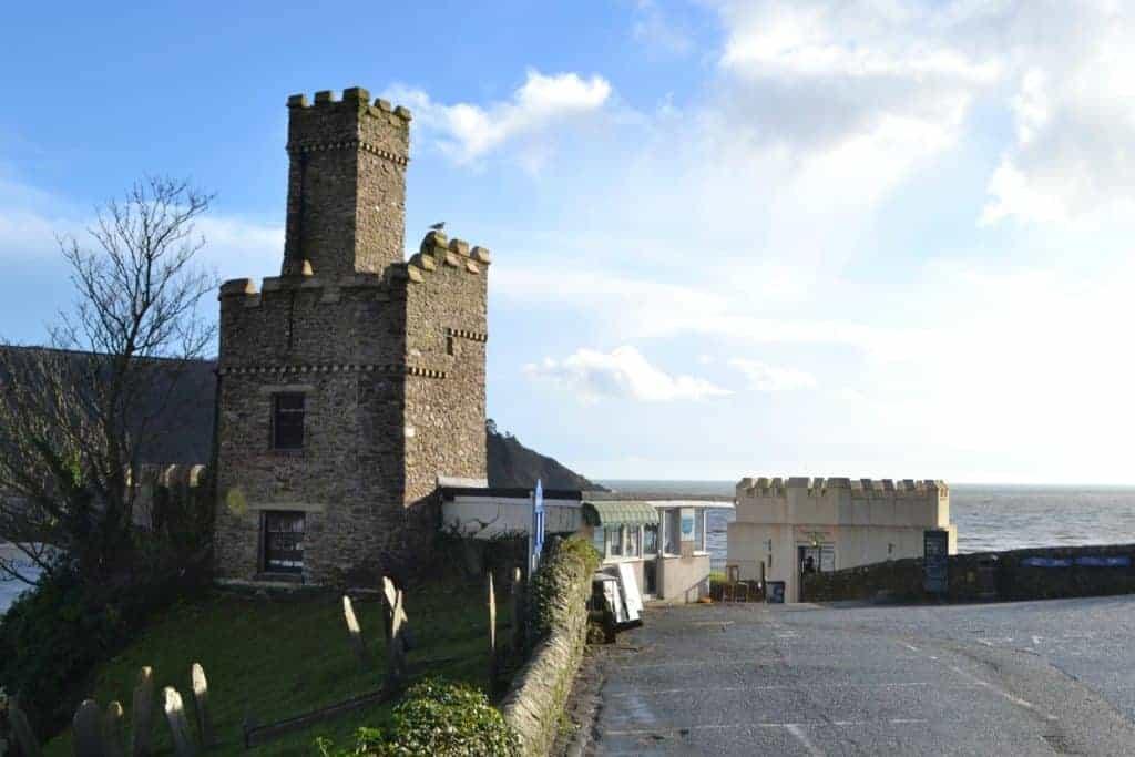 Entrance to Dartmouth Castle in South Devon