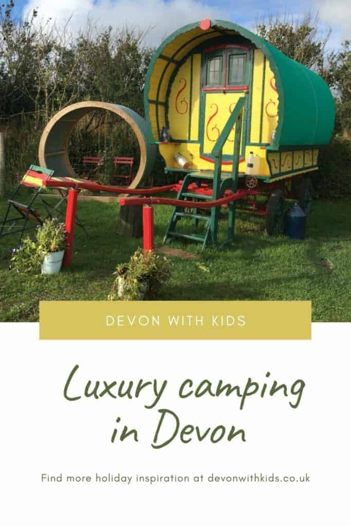 Looking for holidays glamping in Devon? Here are some tried and tested campsites offering luxury camping for families in South West England #glamping #camping #Devon #Devonwithkids #family #holiday #getaway #luxury #tent #hut #England #UK #travel #travelblog #familytravel #ideas #site #park