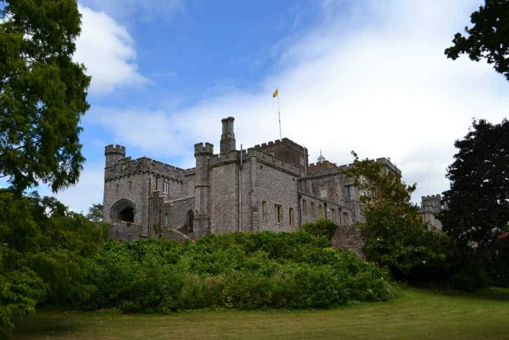 Powderham Castle in South Devon