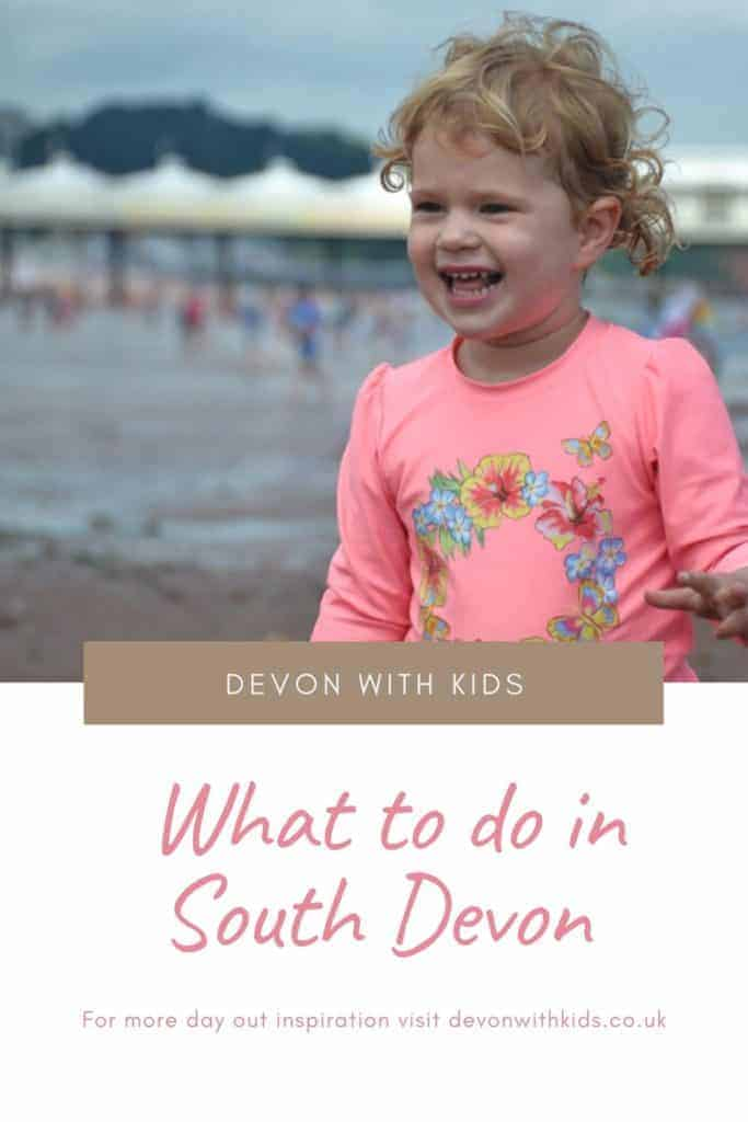 Tried and tested things to do in South Devon with kids including zoos, farms, historic sites, outdoor activities, beaches and what to do when it rains! #England #UK #Devon #South #daysout #thingstodo #DevonwithKids #family #kids #attractions #activities #themepark #beach #fun