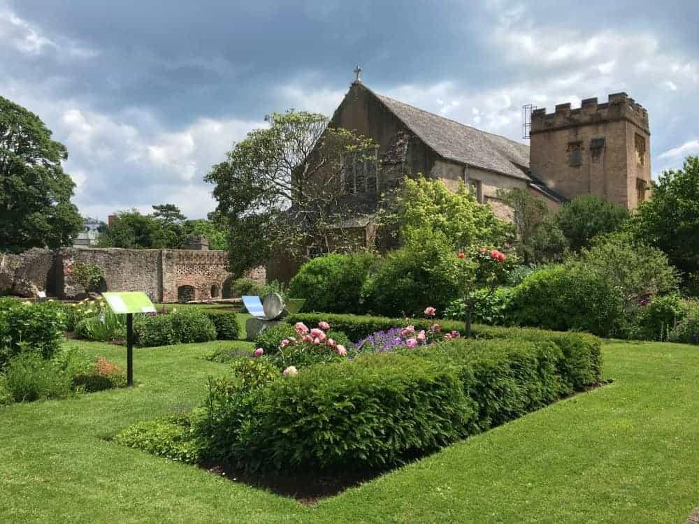 Torre Abbey gardens in Torquay