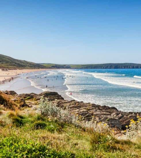 Woolacombe beach - one of many things to do in North Devon