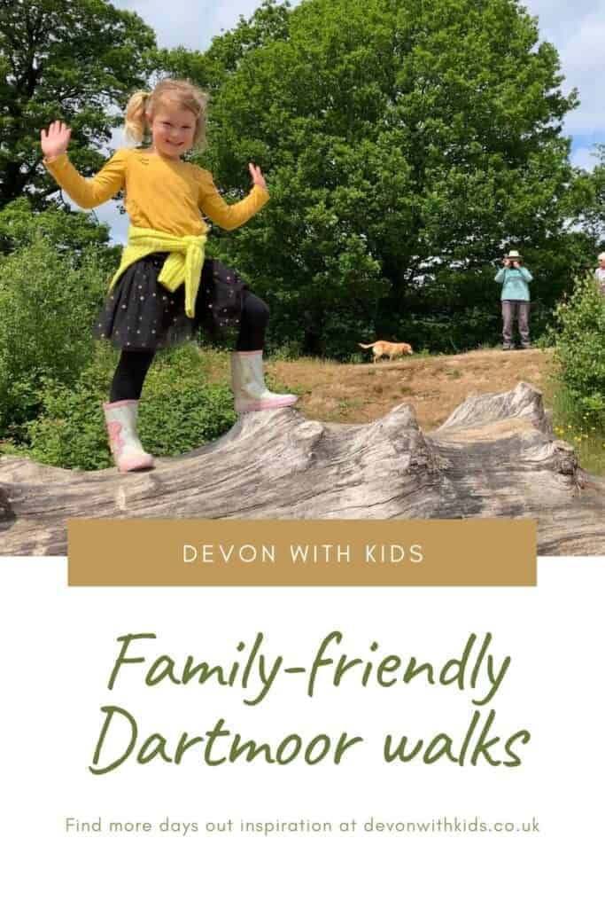 Looking for the best Dartmoor walks with kids? Here's some tried and tested walks in the Dartmoor National Park with good paths, pit stops and toilets #Devon #DevonwithKids #dartmoor #nationalpark #hike #walk #walking #familyfriendly #kids #children #route #trail #England #UK