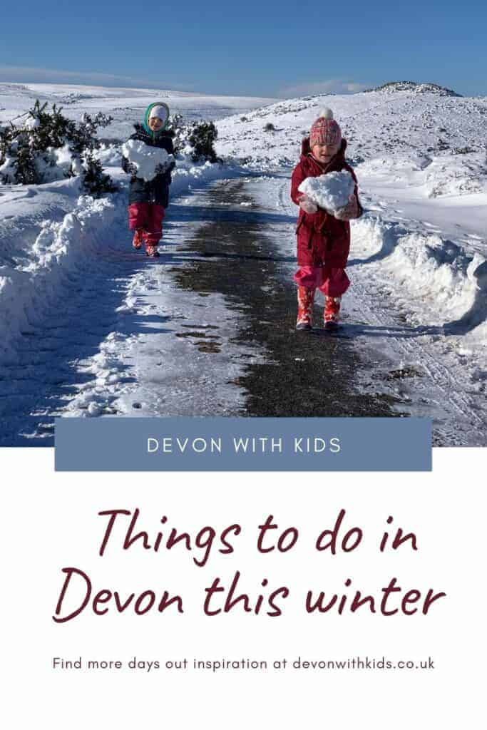 Looking for things to do in Devon this winter? Here's our go to list of activities to do with kids including days out, soft play, pottery, events & swimming #devonwithkids #winter #activities #December #January #February #March #thingstodo #family #travelblog #UK #England #cold #wet #rainy #daysout
