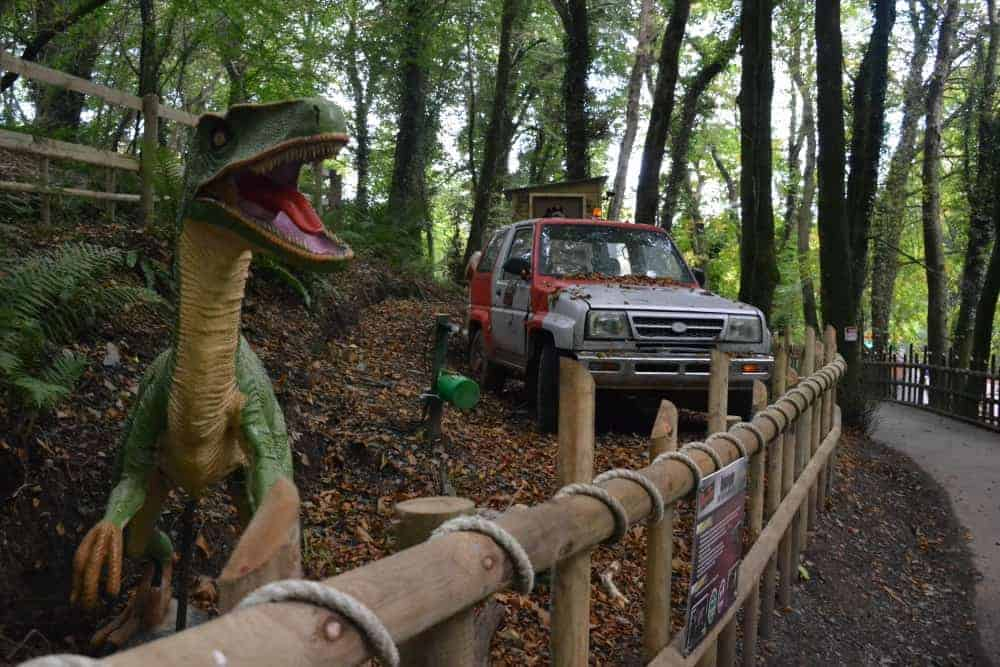 Dino Trek walk through display