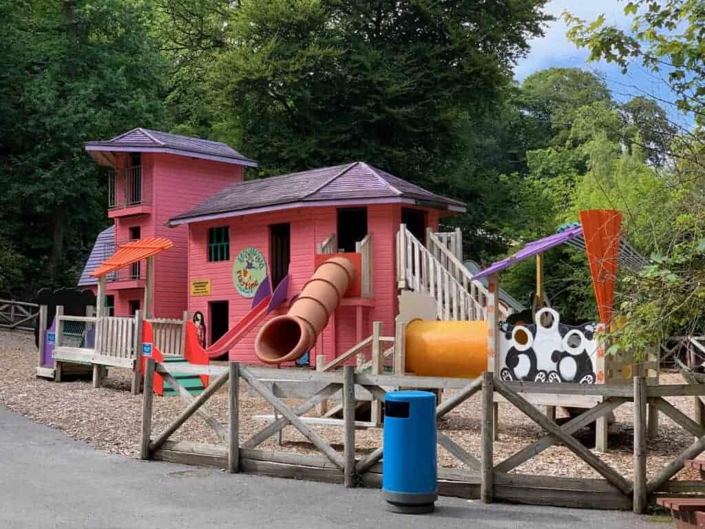 Mini Ninja adventure playground