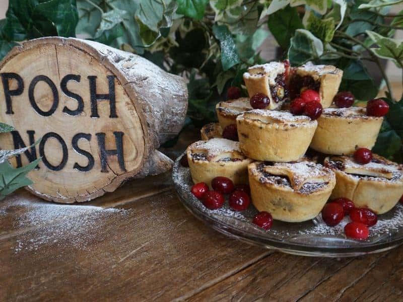 Posh Nosh mince pies