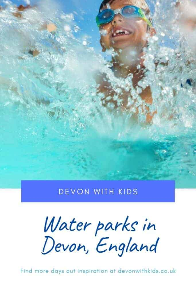 A guide to water parks in Devon including where to find flumes, water sport centres, splash parks, lidos and outdoor swimming pools across the county #waterpark #swmming #pool #splash #park #swim #family #kids #toddler #Devon #England #UK #thingstodo #daysout #water #Devonwithkids