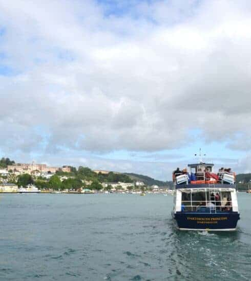Boat trip on River Dart in Dartmouth