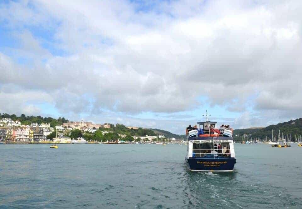 Boat trip on River Dart in Dartmouth
