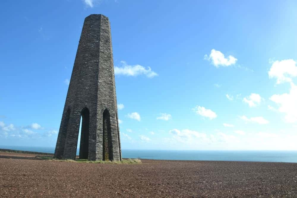 The Daymark navigational tower at Kingswear
