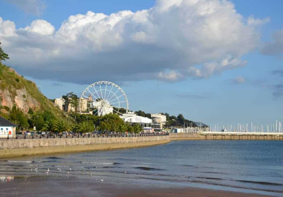 Torre Abbey Sands and Torquay seafront
