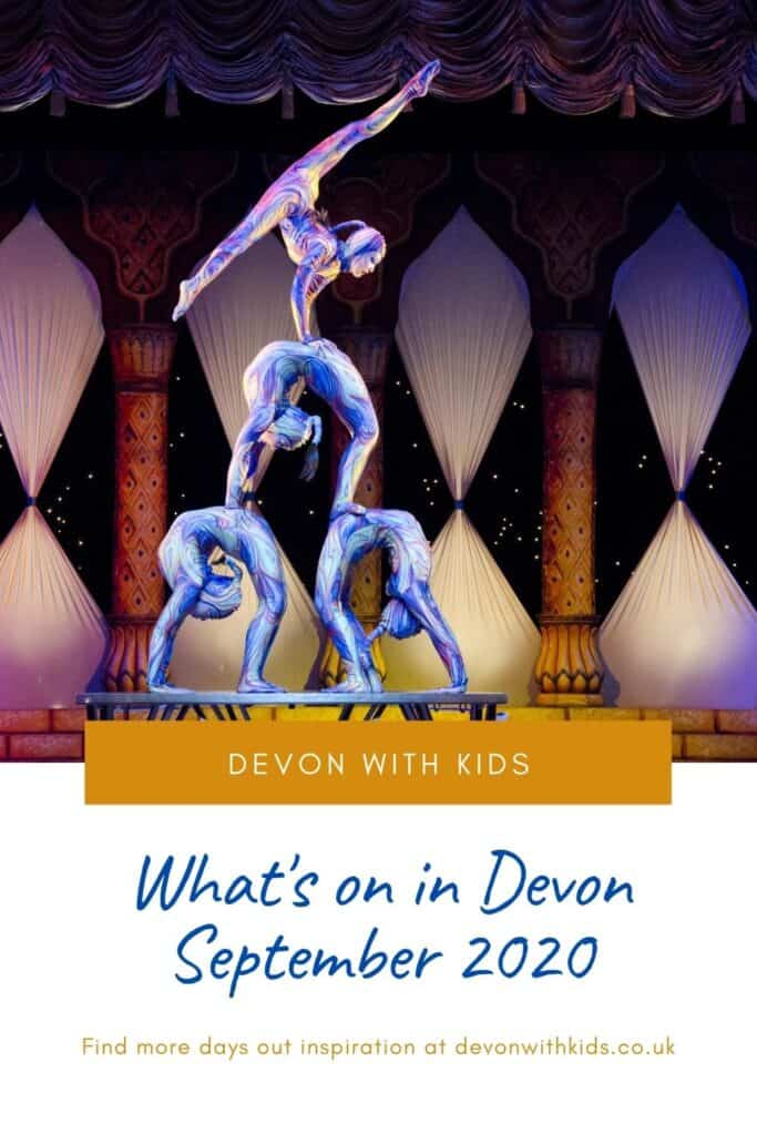 Looking for what's on and things to do in Devon in September 2020? Here's your guide to family attractions, days out, events and activities #Devon #England #events #ideas #shows #thingstodo #whatson #family #daysout #Devonwithkids #September #autumn