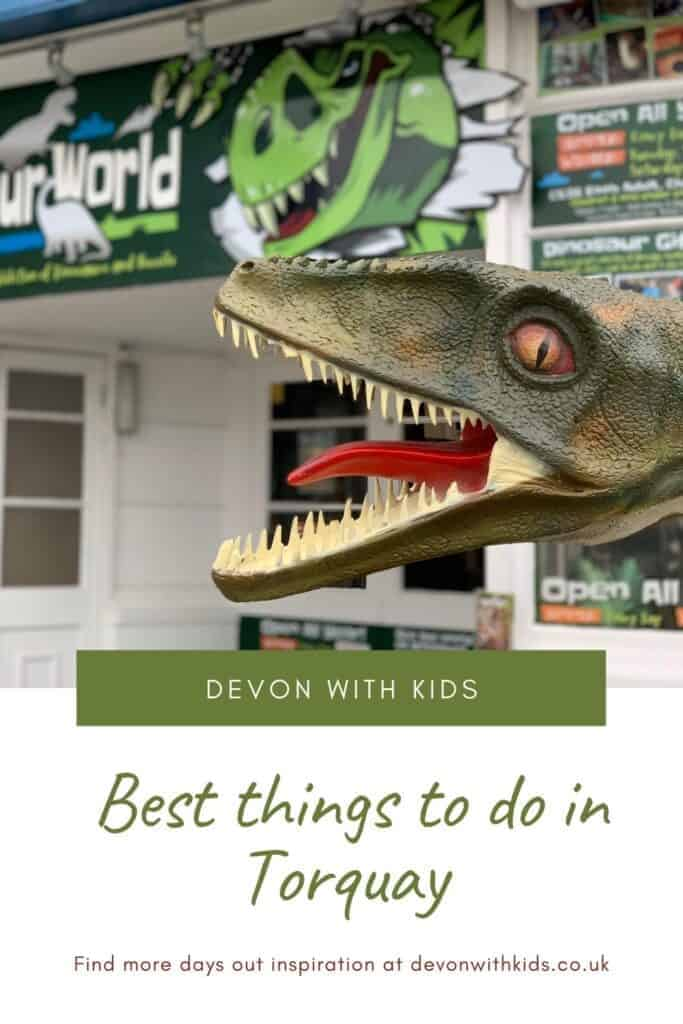 Torquay in Devon is bustling with fun come rain or shine. Here's my recommended things to do in Torquay with kids is all weathers and seasons #Devon #SouthDevon #Devonwithkids #family #attraction #thingstodo #guide #travel #England #blog #list #Torquay