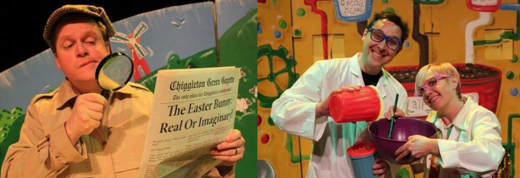 Easter Bunny's Eggs-ellent Adventure at the Palace Theatre, Paignton