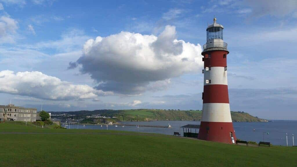 Smeaton's Tower on The Hoe in Plymouth