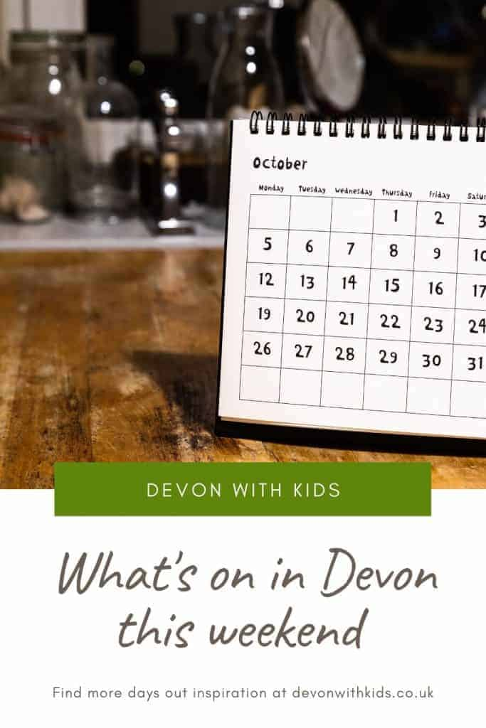 Wondering what's on in Devon this weekend? You've come to the right place. Here's the pick of family-friendly events, days out and activities #events #weekend #Devon #England #UK #activities #daysout #DevonwithKids #family