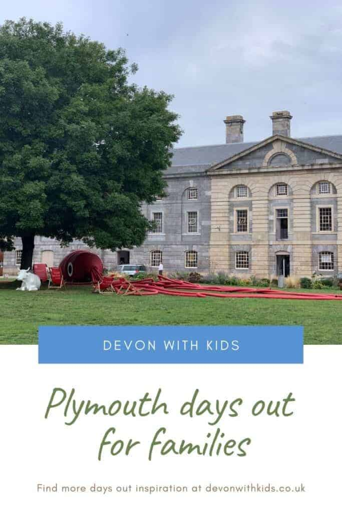 Looking for things to do in Plymouth with kids? Here's my big guide to outdoor fun, family attractions and even places to visit on a wet day #travel #plymouth #devon #DevonwithKids #UK #England #thingstodo #daysout #wetday #city #destination #guide #family #kids #museum #aquarium #beach #south