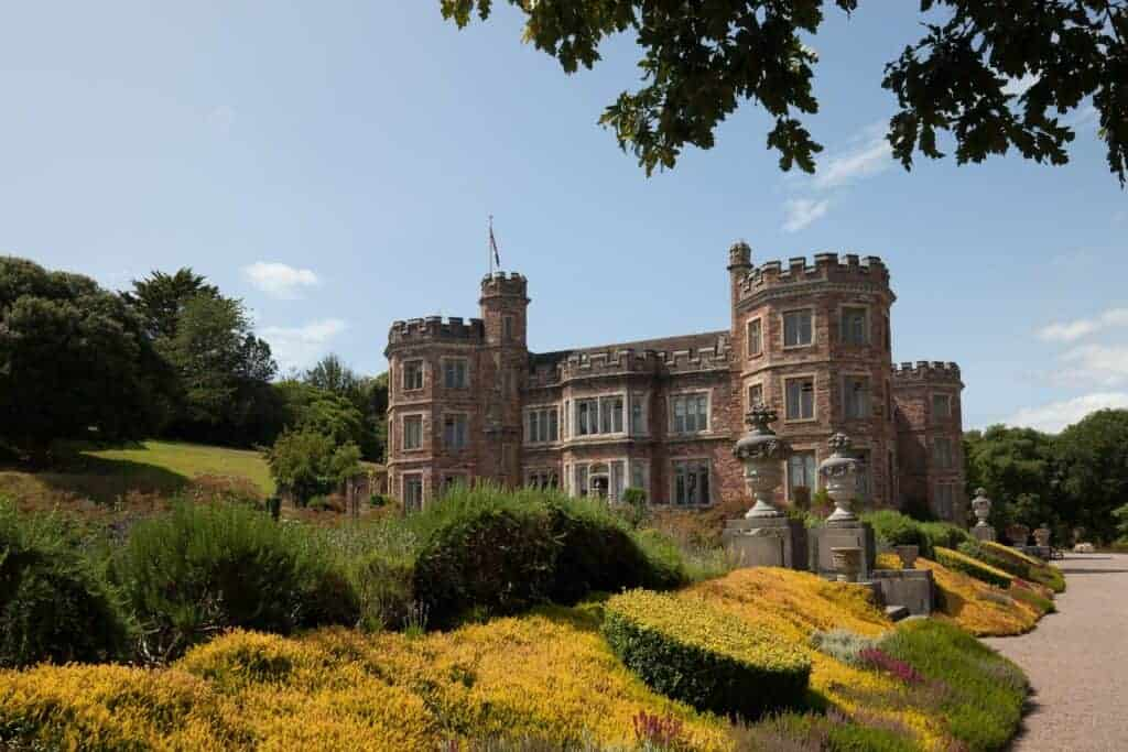 Mount Edgcumbe House in Cornwall near Plymouth