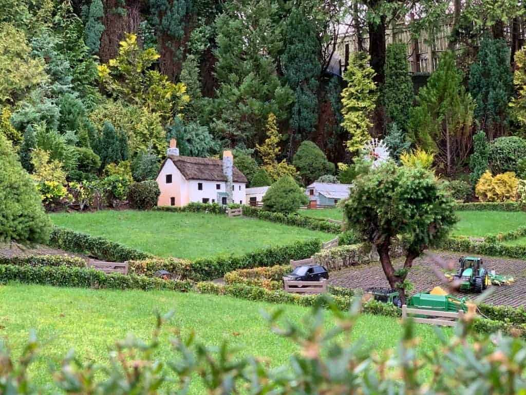 Countryside scene at Babbacombe Model Village