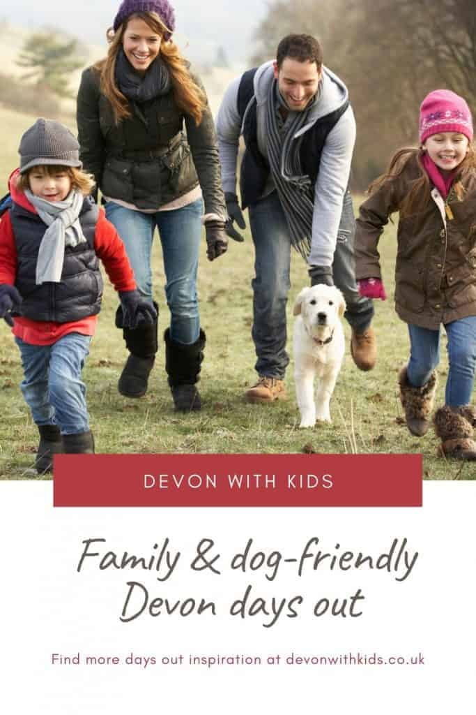 Looking for days out that are great for kids and your four-legged friend? Here's where to find family and dog-friendly attractions in Devon #Devon #dog #pet #family #friendly #places #visit #daysout #attractions #thingstodo #SouthWest #England #UK #Devonwithkids