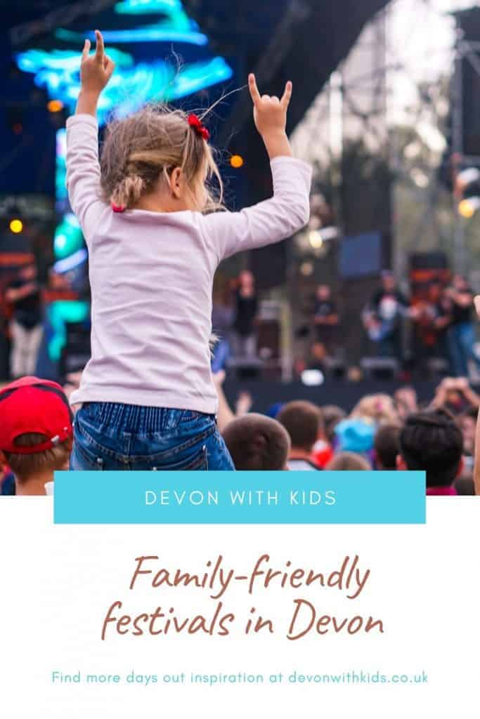 Looking for the best festivals in Devon for families? Here's a round up of what's on in 2021 including free events and music festivals #Devon #SouthWest #West #England #UK #festival #family #travel #Devonwithkids #event #events #music