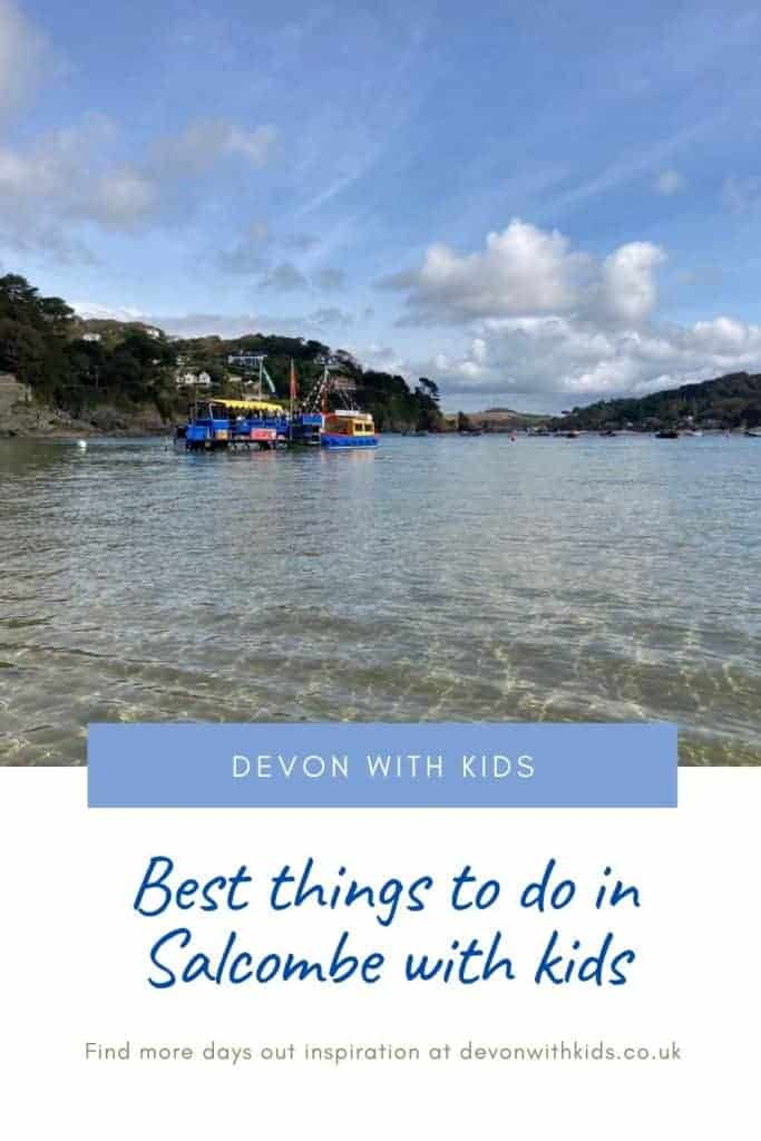 Salcombe in Devon may be off the beaten track when it comes to big family attractions but there's still plenty of things to do in Salcombe with kids. Here's our top tips on beaches and places to visit #England #Devon #VisitDevon #Salcombe #SouthDvon #DevonwithKids #travel #daysout #attractions #familyfun #beaches