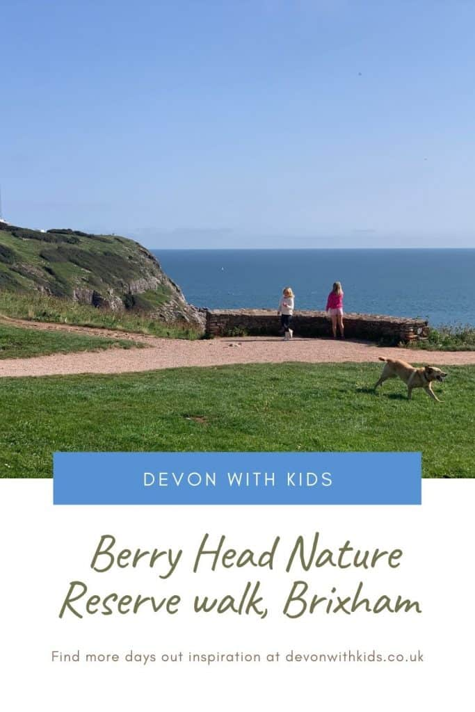 Looking for an easy Devon coast walk with amazing panoramic views? We can recommend Berry Head near Brixham. Here's all you need to know about visiting with kids #Devon #walks #nature #reserve #brixham #Devonwithkids #thingstodo #family #outdoors #southdevon #soutwest #coast #path