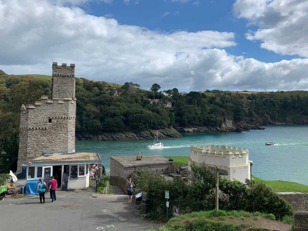 Dartmouth Castle and Tea Rooms